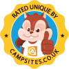 Rated unique by Campsites dot co dot uk
