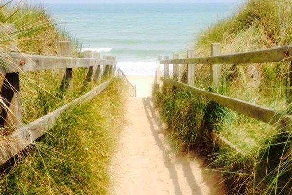 Sea Palling beach