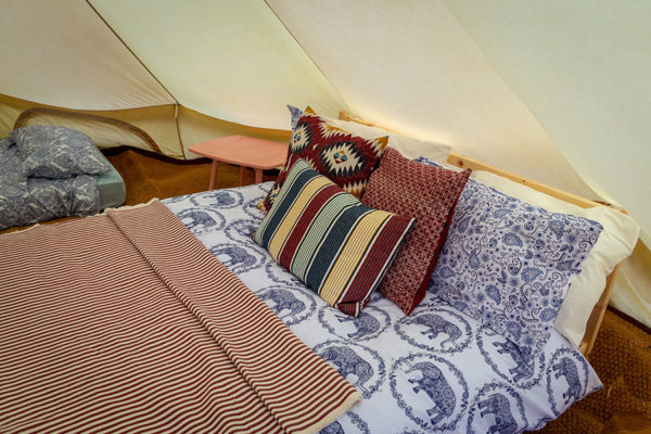 Heigham Holmes Island - Bell Tent