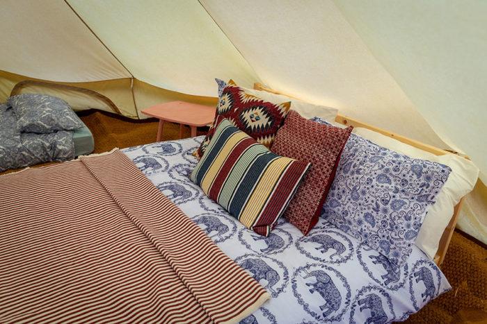 Heigham Holmes Island - Bell Tent