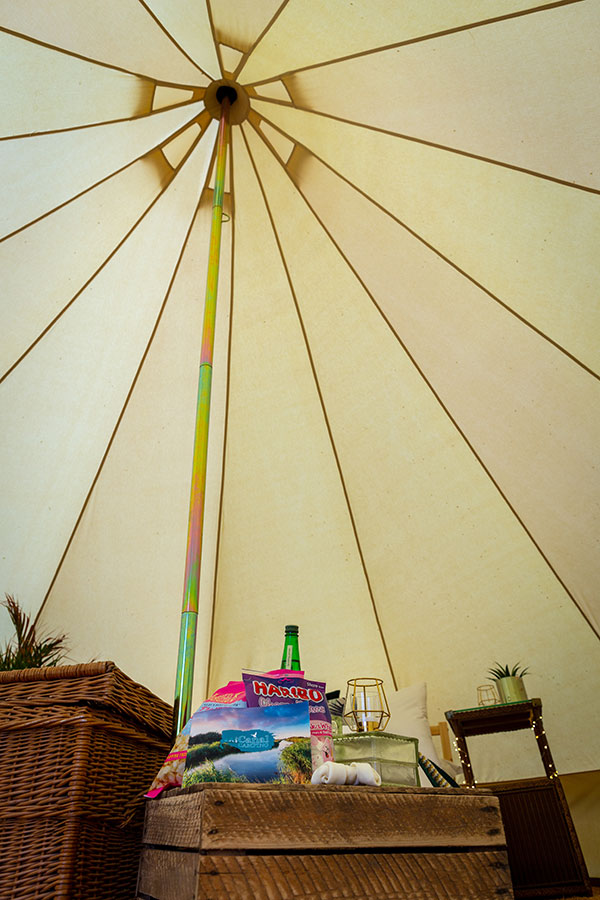 Scolt Head Island bell tent